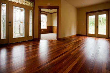 Harwood floor cleaning & refinishing